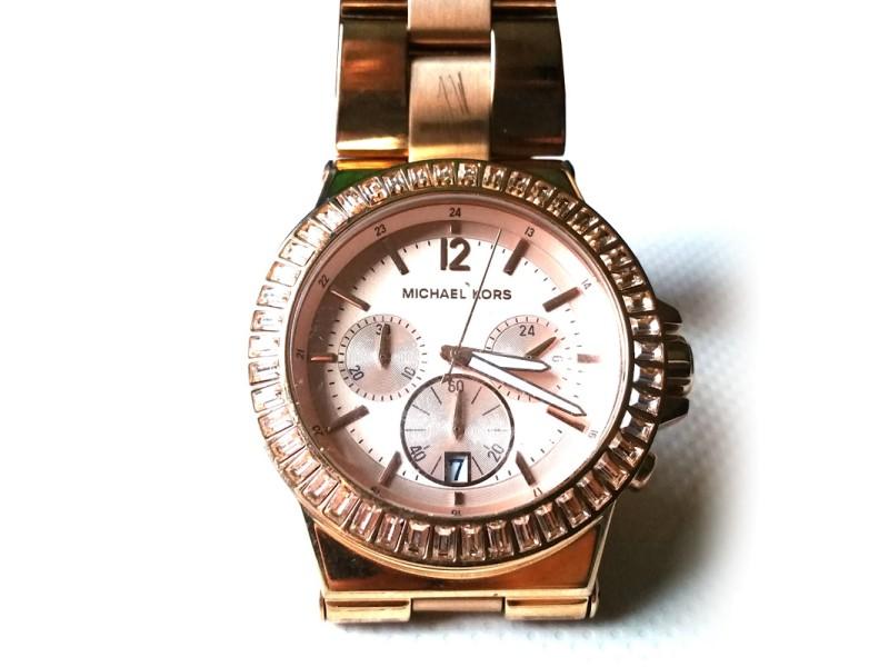 Michael Kors MK5412 Rose Gold 43mm Womens Watch