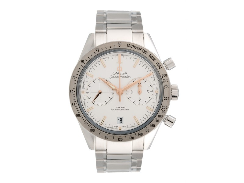 Omega Speedmaster 331.10.42.51.02.002 Stainless Steel & Silver Dial 41.5mm Mens Watch