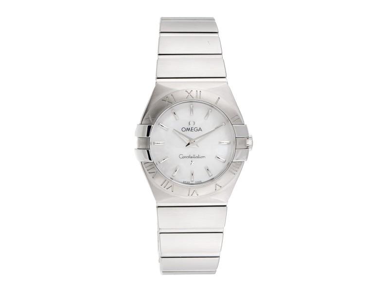 Omega Constellation 123.10.27.60.05.001 Stainless Steel Quartz 27mm Womens Watch