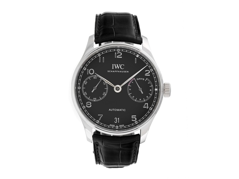 IWC Portugieser IW500703 Stainless Steel Automatic 42.3mm Mens Watch