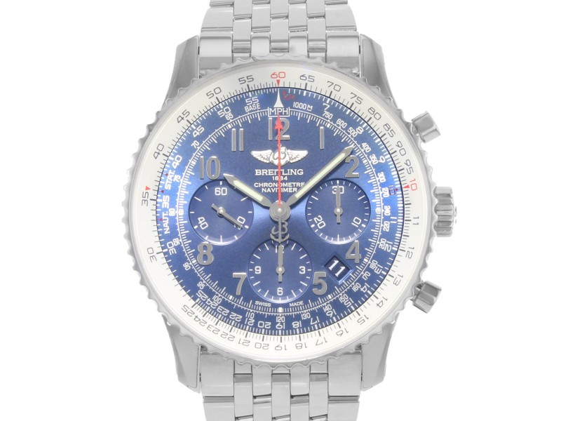 Breitling Navitimer 01 AB0121C4/C920-447 Stainless Steel Automatic 43mm Mens Watch