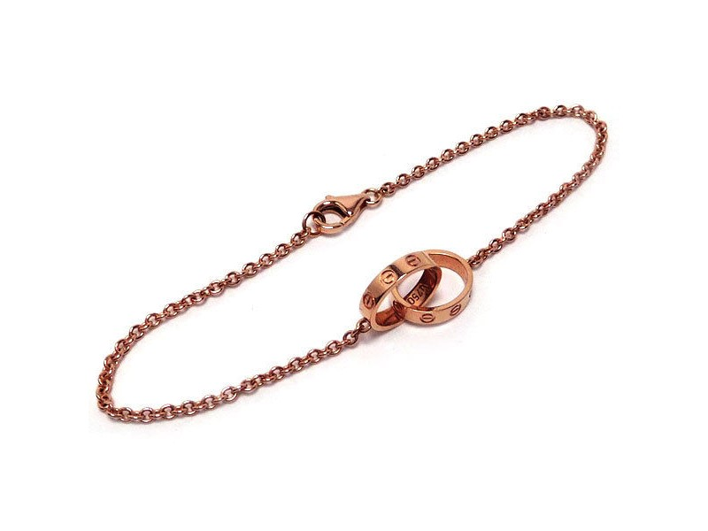 Cartier Love 750 Rose Gold Baby Bracelet