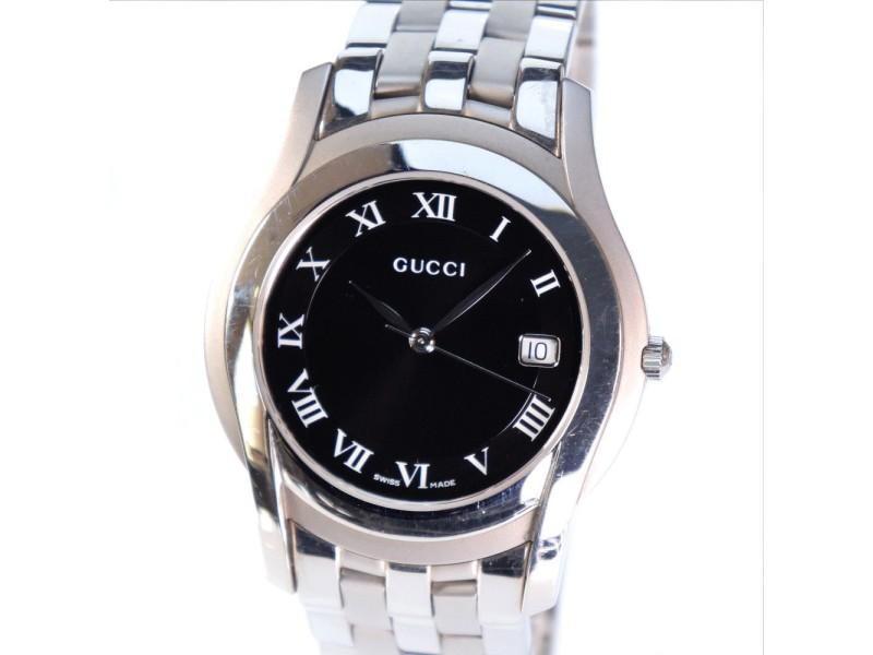 7897048f43e Gucci 5500 M 35mm Mens Watch