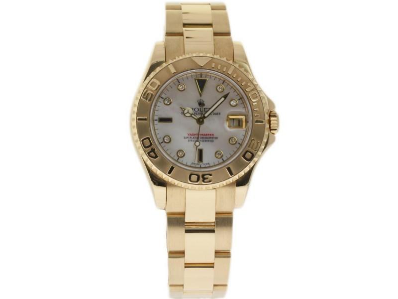 Rolex Yacht-master 168628 35mm Unisex Watch