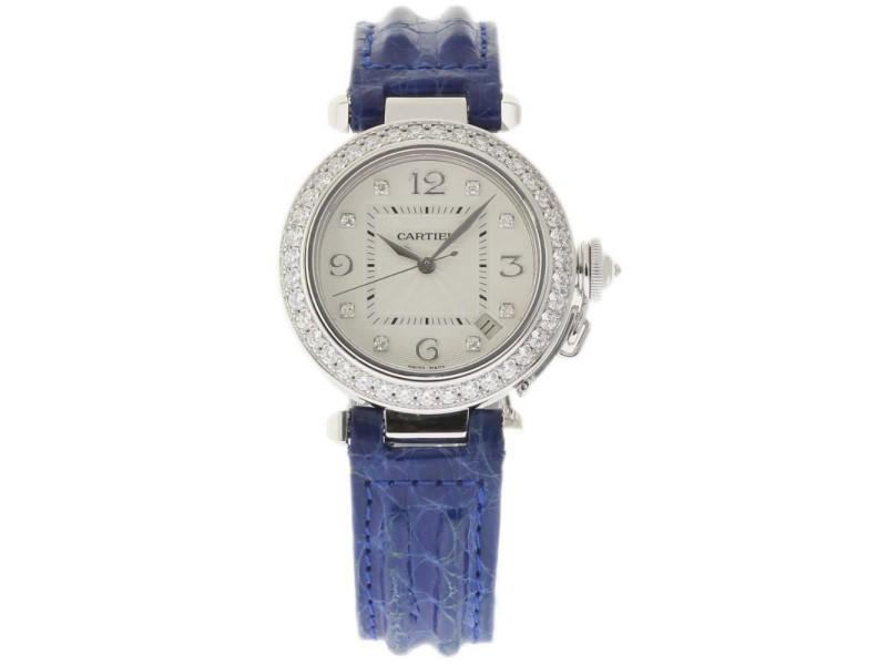 Cartier Pasha WJ1111M9 32mm Womens Watch