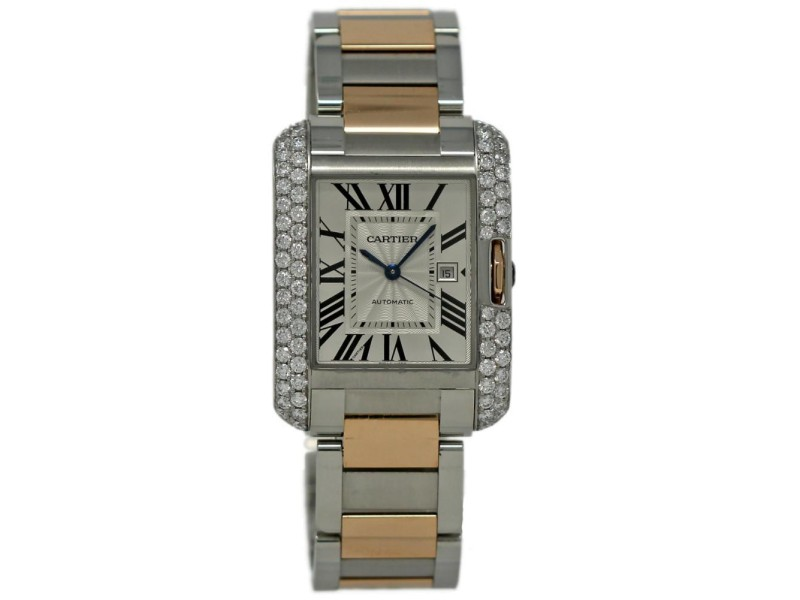 Cartier Tank Anglaise W5310007 39.2mm Mens Watch