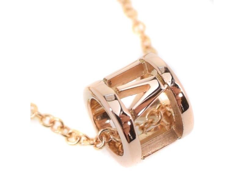 Tiffany & Co. 18K Yellow Gold Atlas Petit Necklace