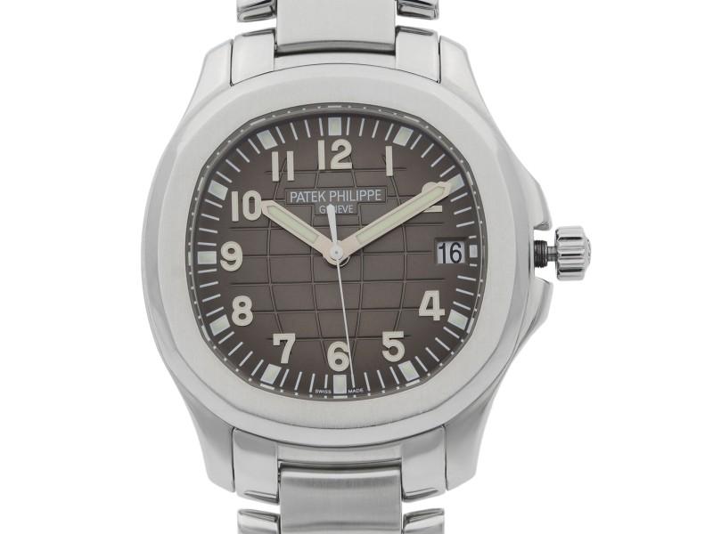 Patek Philippe Aquanaut Steel Black Dial Automatic Mens Watch 5167/1A-001