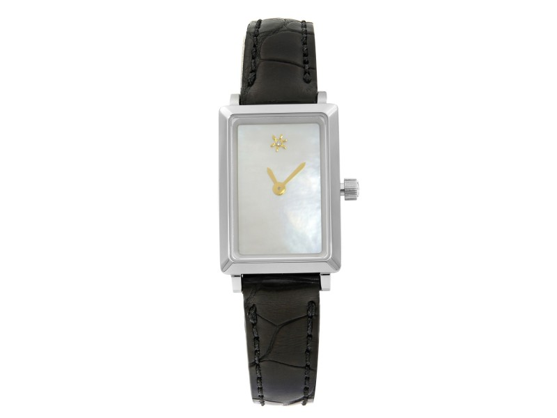 Gomelsky Shirley Fromer Steel MOP & Diamond Dial Ladies Watch G0120023479