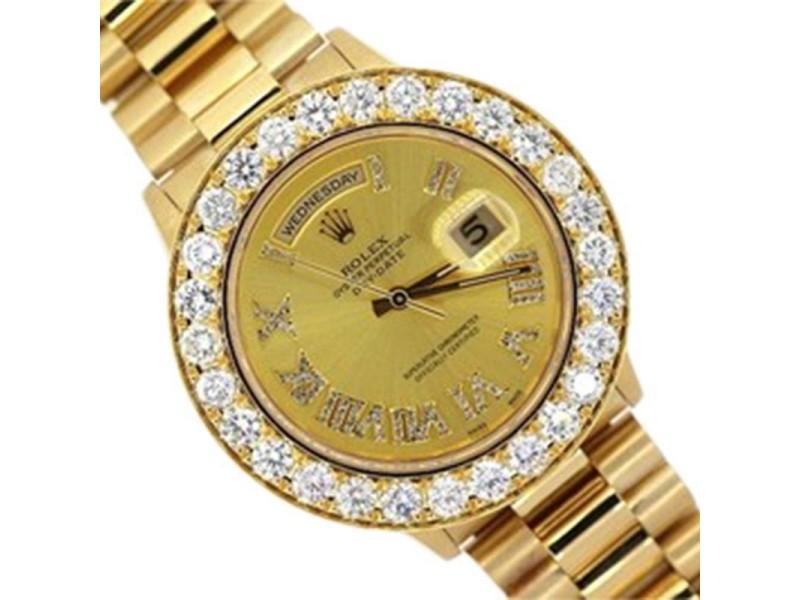 Rolex Day-Date 18038 26mm Womens Watch