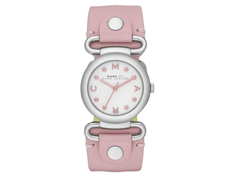 Marc by Marc Jacobs MBM1305 River Pink Leather Womens Watch