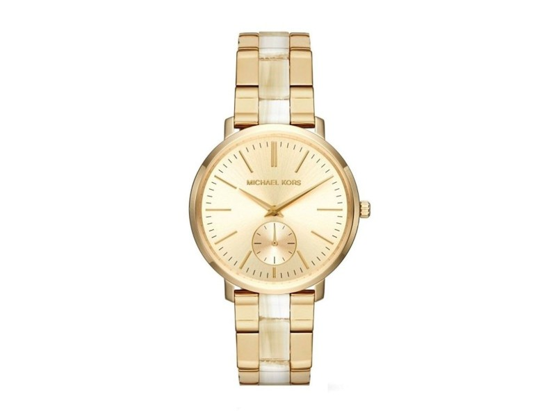 Michael Kors Jaryn MK3510 Gold Dial Stainless Steel 38mm Womens Watch