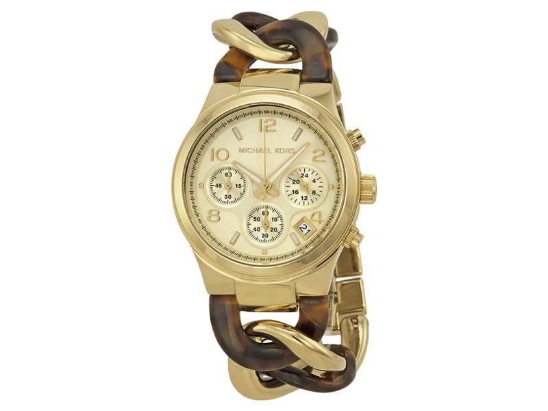 Michael Kors MK4222 Gold Tone Stainless Steel 38mm Womens Watch