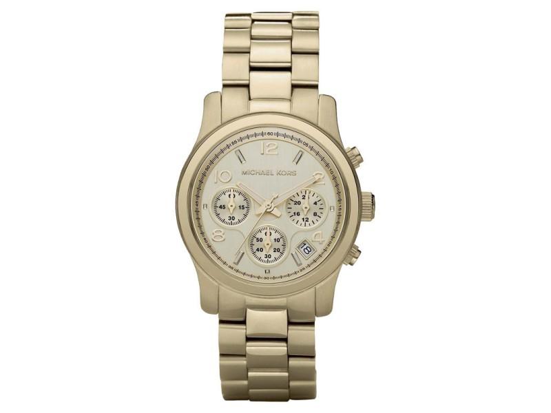 Michael Kors MK5055 Gold Tone Stainless Steel 38mm Womens Watch