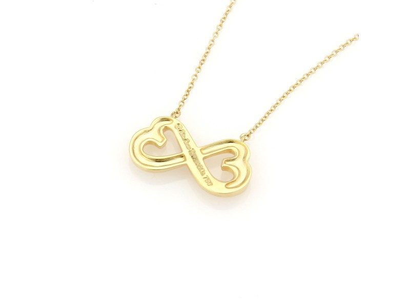 b30926f384507 Tiffany & Co. Paloma Picasso 18K Yellow Gold Loving Heart Pendant Necklace