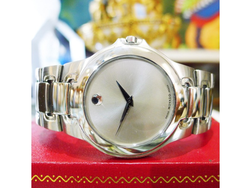 Movado Museum 84 G1 1898 36mm Mens Watch
