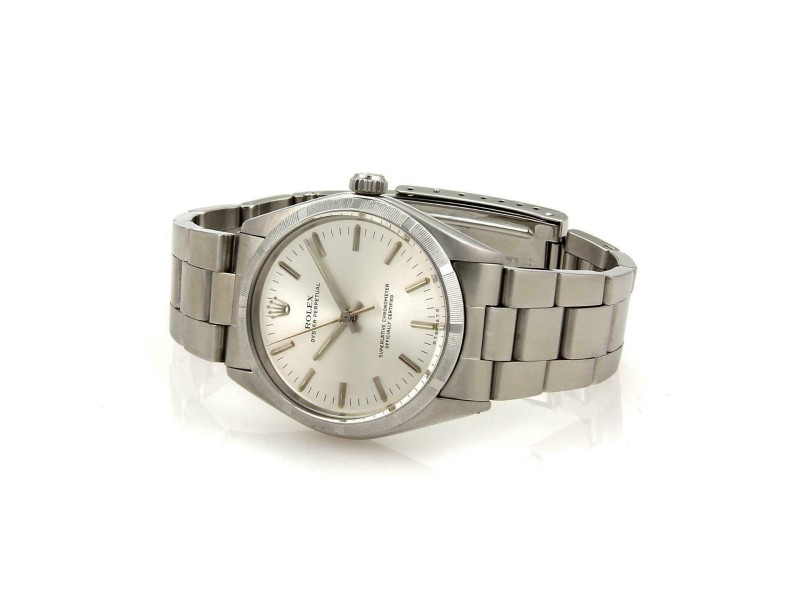 51600 Vintage Rolex Oyster Perpetual Stainless Steel Automatic Men's Watch -1003
