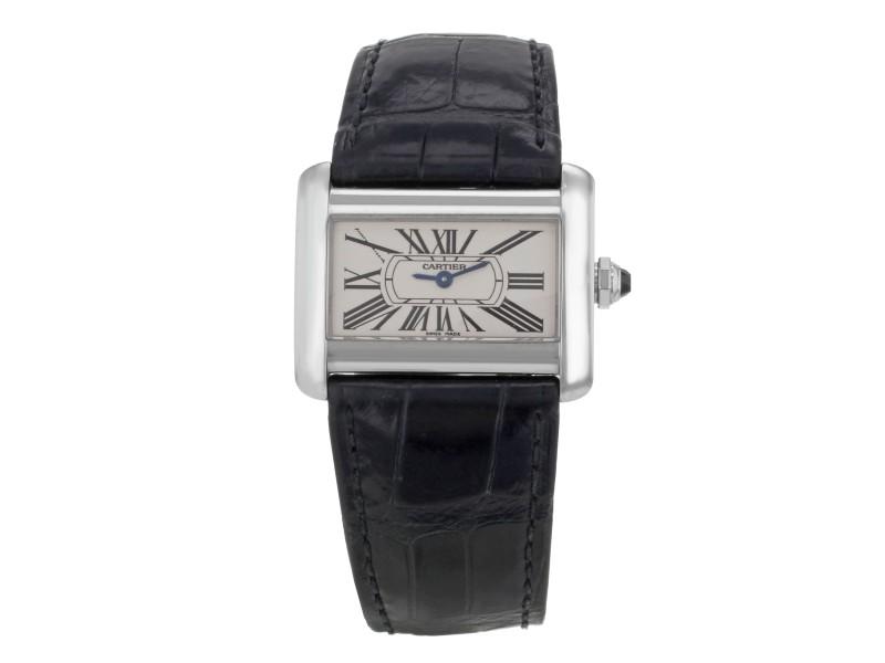 Cartier Tank W6300255 31.5mm Womens Watch
