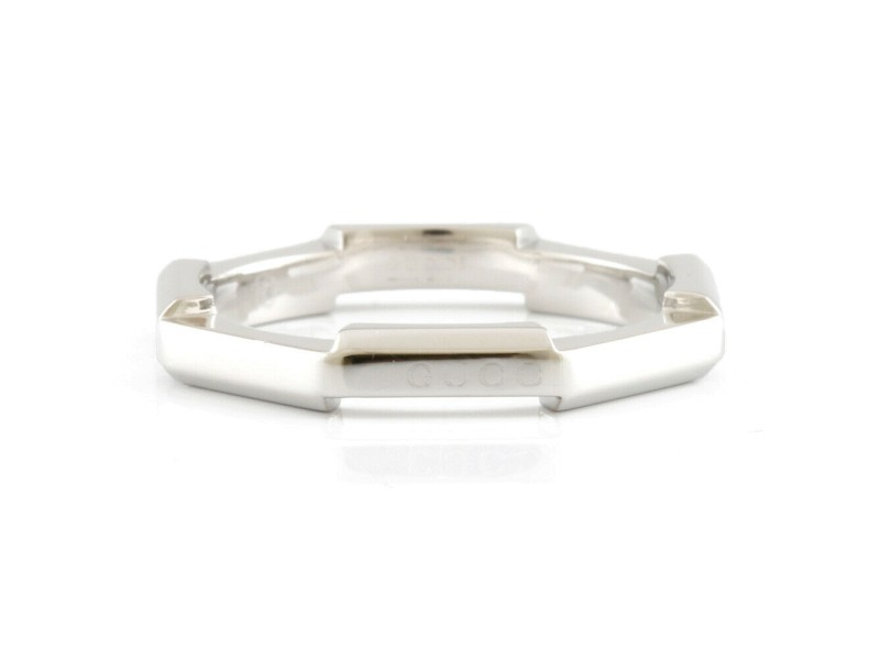 GUCCI Platinum Link to love Ring