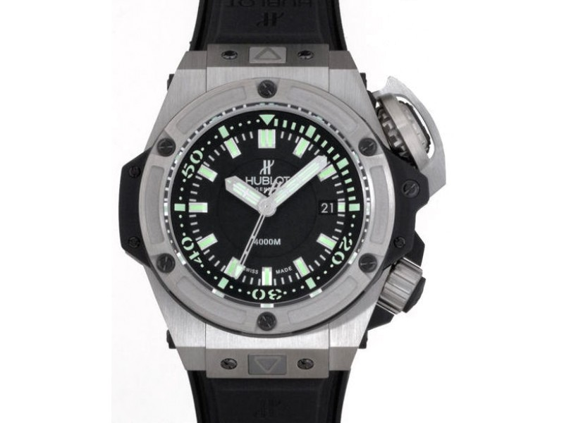 Hublot Big Bang King Oceanographic 731.NX.1190.RX Titanium Black Dial 48mm Mens Watch