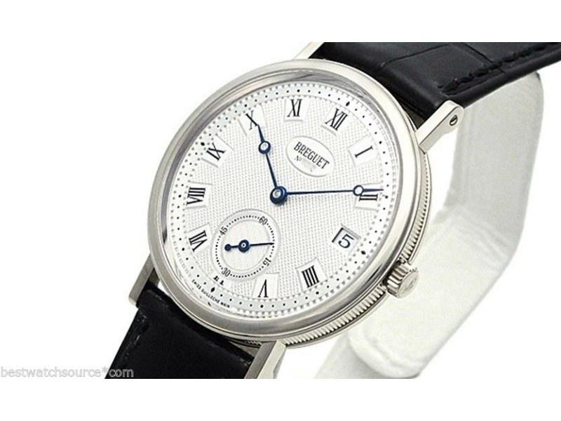 Breguet 5920bb/15/984 18K White Gold  B&P Classique Automatic Watch