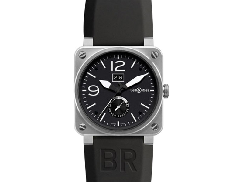 Bell & Ross BR-03-90 Grande Date 42mm Automatic Stainless Steel Watch