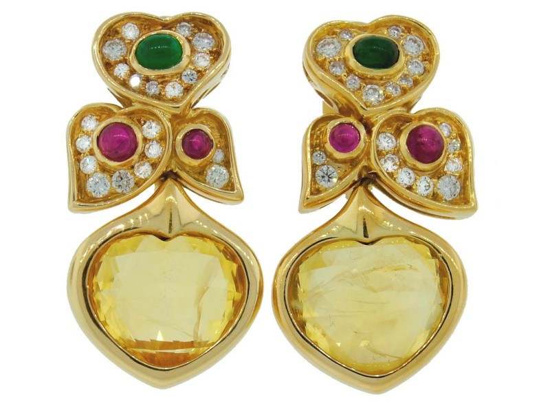 gold earrings yellow round m in and diamond sapphire p halo stud white fashion