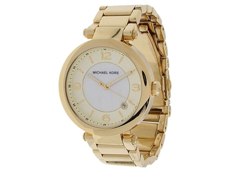 Michael Kors MK5071 Gold Round 3 Hand Date Women's Watch