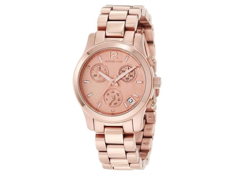 Michael Kors MK5430 Chronograph Rose Gold Tone Quartz Analog Women's Watch