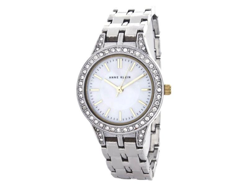 Anne Klein 10/9823 Mother of Pearl Dial Silver Bracelet Quartz Womens Watch
