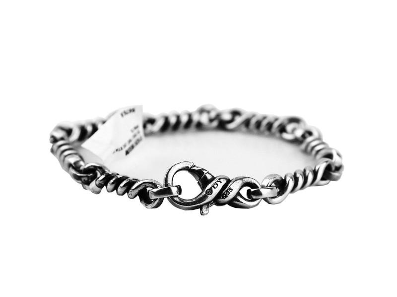 David Yurman Sterling Silver Cable Twist Bracelet