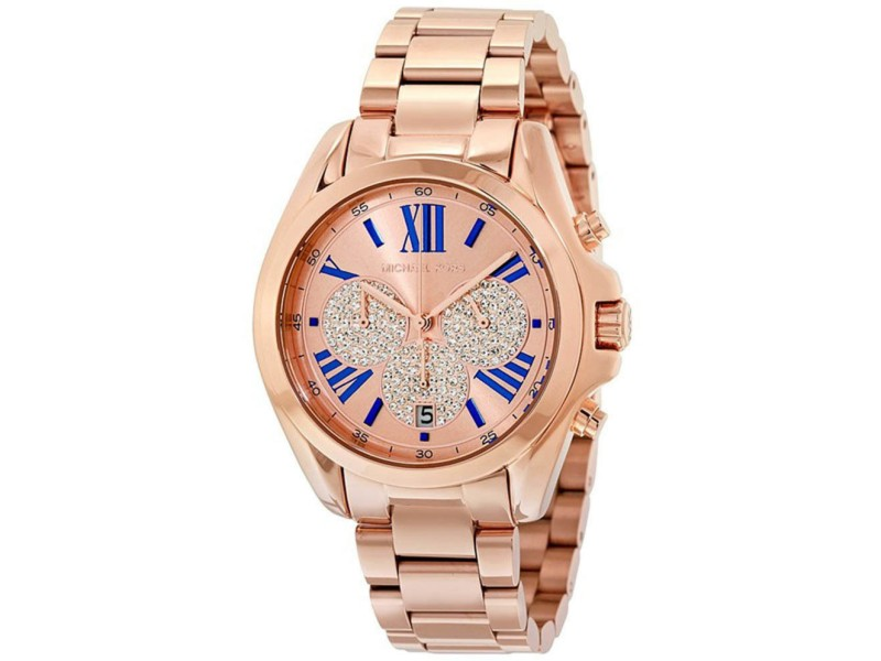 Michael Kors MK6321 Rose Gold Stainless Steel Rose Gold Dial Quartz 38mm Women's Watch