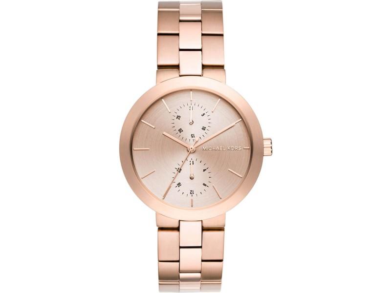 Michael Kors MK6409 Rose Gold Stainless Steel Rose Gold 39mm Women's Watch