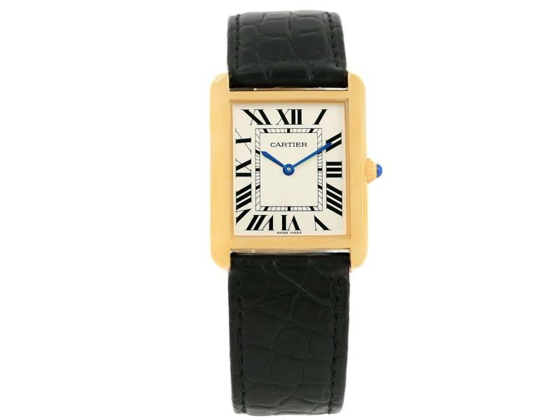 Cartier Tank Solo W1018855 34m Unisex Watch