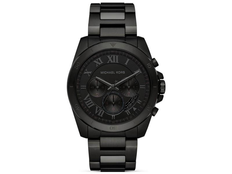 Michael Kors MK8482 Black Ion Plated Stainless Steel 44mm Mens Watch