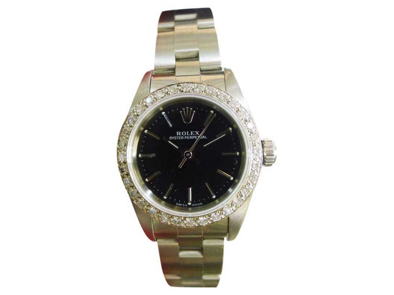 Vintage Rolex Oyster Perpetual 76030 26mm Womens Watch