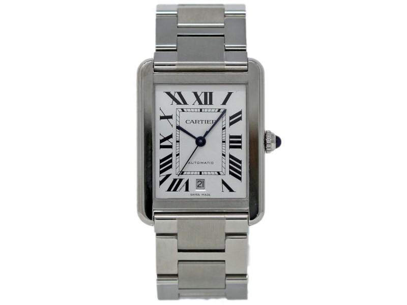Cartier Tank Solo W5200028 40mm Mens Watch