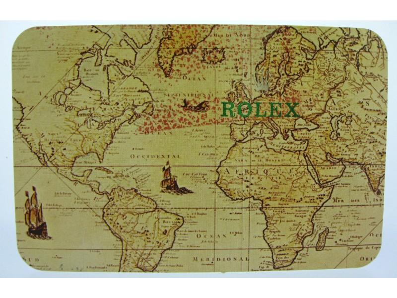 VINTAGE ROLEX 1994/1995 CALENDER CARD