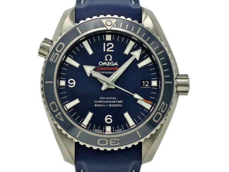 Omega New Seamaster 232.92.42.21.03.001 Planet Ocean Blue