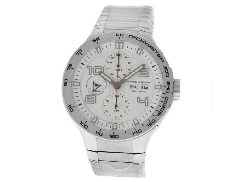 Porsche Design Flat Six P6340 6340.41.63.0251 Men's Steel Automatic 44MM Watch