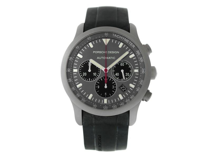 Porsche Design Dashboard PTC Chronograph P6612 6612.10.50.1139 Titanium Watch
