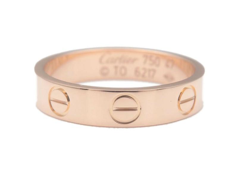 Authentic Cartier Mini Love Ring