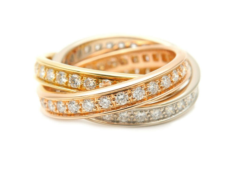 Authentic Cartier Trinity Ring