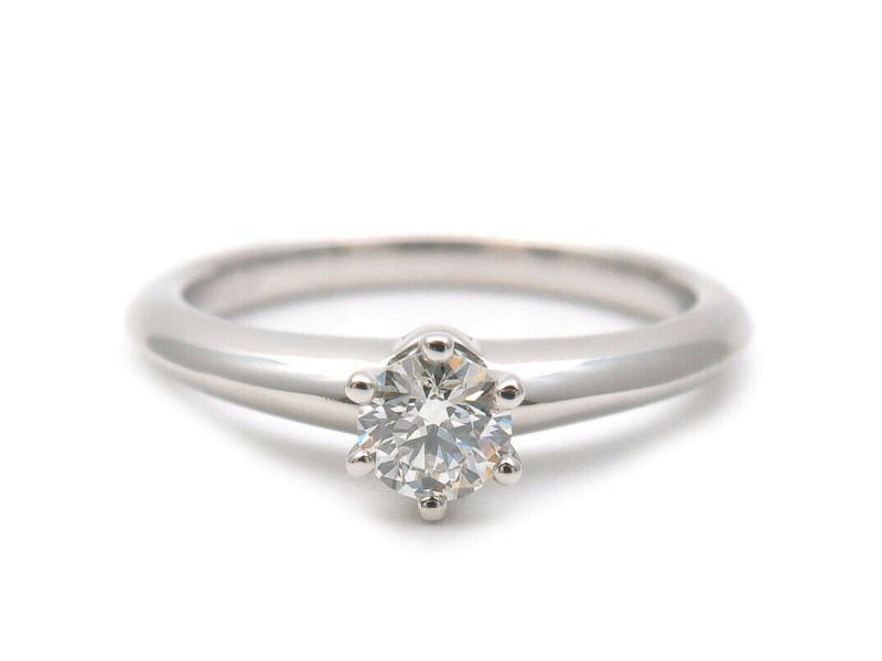 Authentic Tiffany&Co. Solitaire Diamond Ring