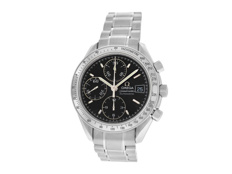 Omega Speedmaster 3513.50 Mens Chronograph Stainless Steel Automatic 39MM Watch