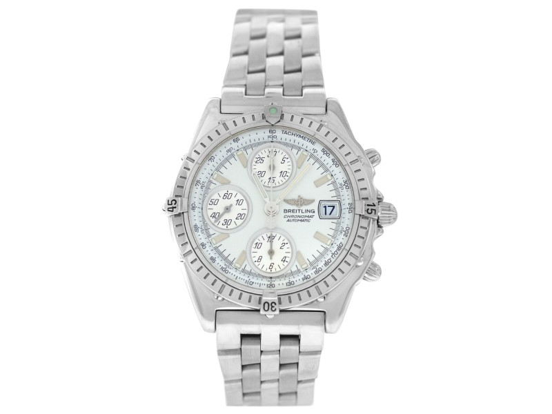 Breitling Chronomat A13050.1 Steel Chonograph Date Automatic 40MM Watch