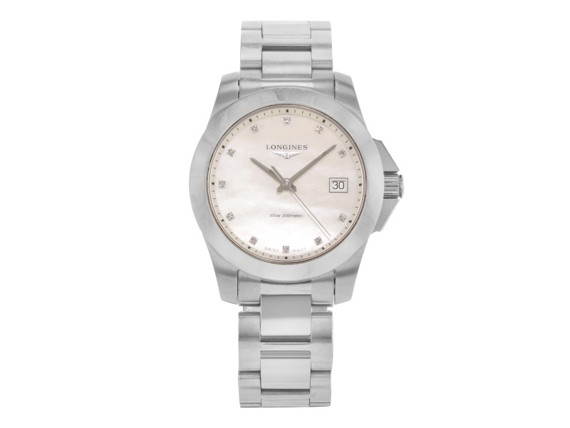 Longines Conquest L3.377.4.87.6 34mm Womens Watch