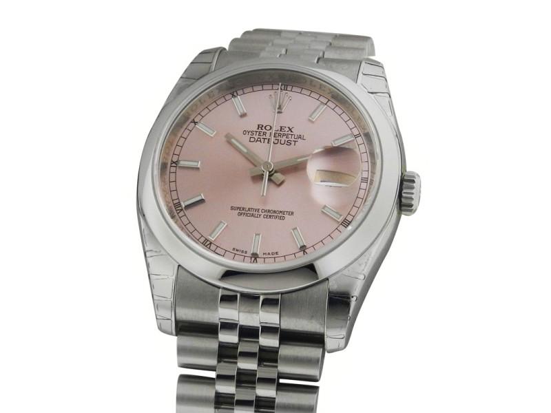 Rolex Datejust 116200 36mm Stainless Steel Jubilee Watch