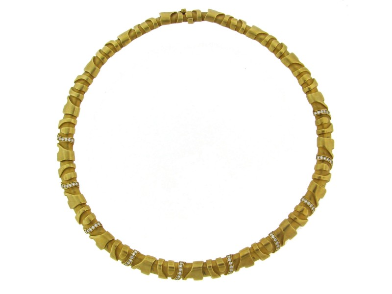 Kieselstein-cord Diamond Yellow Gold Necklace