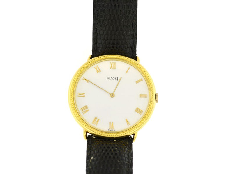 Piaget 18K Yellow Gold Unisex Watch